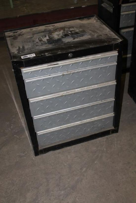 ... TOOLBOX C/W CONTENTS (BLACK/SILVER) for sale : Machinery-Locator.com