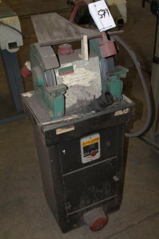 DENFORD TDS/7/D/E/P 3 PHASE PEDESTAL GRINDER for sale ...