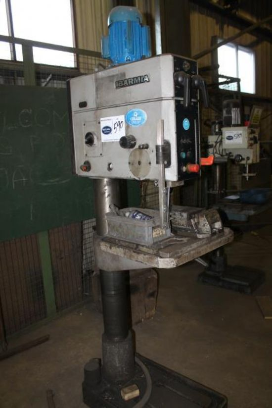 IBARMIA AX-40 3 PHASE PILLAR DRILL for sale : Machinery ...