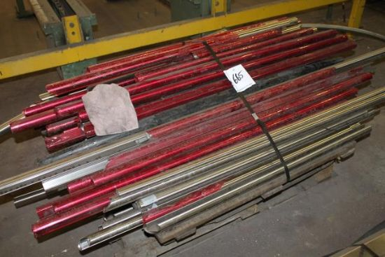 PALLET OF STAINLESS STEEL HANDRAIL for sale : Machinery ...