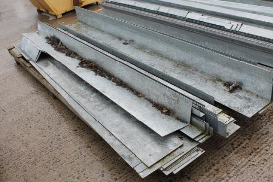 PALLET OF GALVANISED CORNER PROTECTORS for sale ...