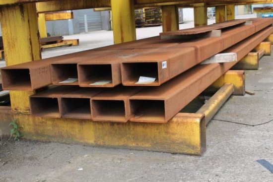 8No. LENGTHS 10m 250mm x 150mm BOX SECTION for sale ...
