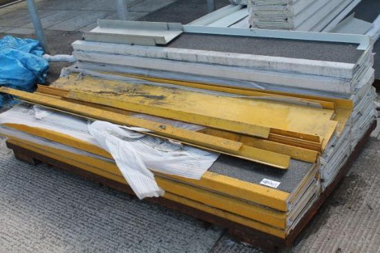 PALLET OF ANTI-SLIP STEP COVERS for sale : Machinery ...