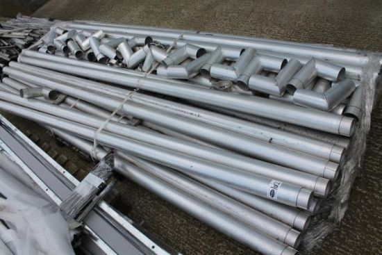 PALLET OF ALUMINIUM DOWNPIPES for sale : Machinery-Locator.com