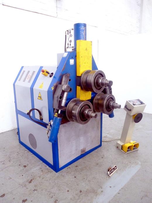 Horizontal/Vertical Hydraulic Single Pinch Section Bending ...