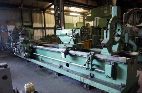 Mostana Model 1m65 5 Straight Bed Centre Lathe For Sale