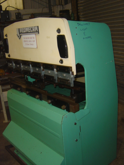 ... ton Hydraulic Upstroking Press Brake for sale : Machinery-Locator.com