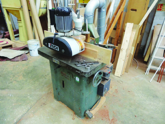 Wadkin Spindle Moulder with Itech power feed for sale ...