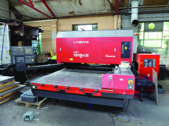 Amada Lasmac Lc1212 Series 3 Laser For Sale Machinery