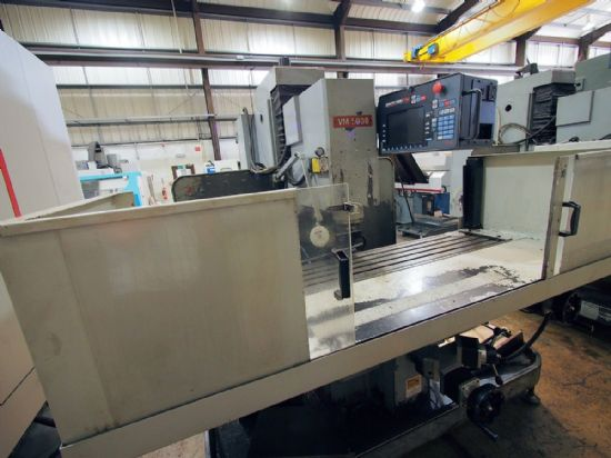 XYZ VM5000 CNC Milling Machine (2006) for sale : Machinery-Locator.com