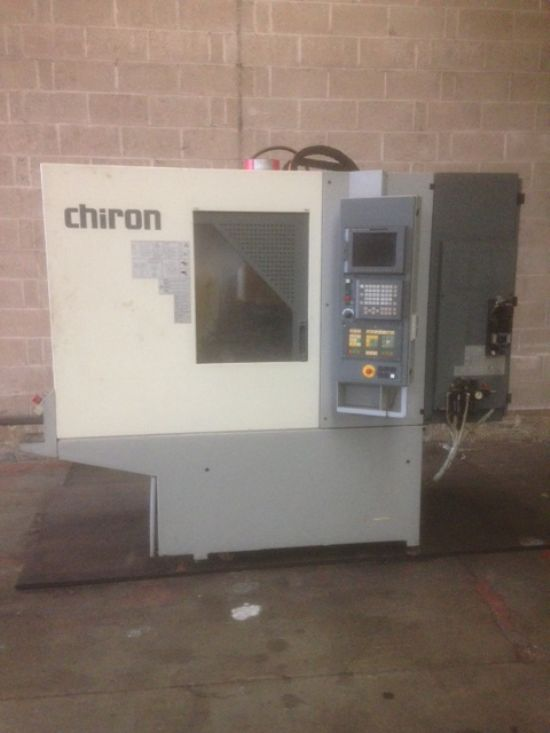 with Heidehain 360 control. Fanuc drives. Full 4th axis fitted. Excellent order. £9750.