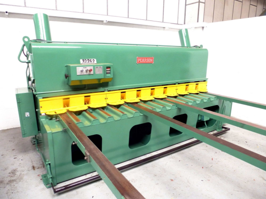 ... 3048mm x 10mm Hydraulic Guillotine for sale : Machinery-Locator.com