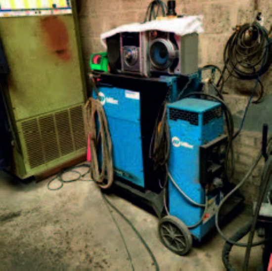 numerous modern miller dynasty 700 mig welders for sale machinery locator