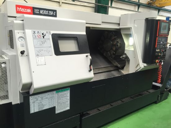 Mazak Quick Turn Nexus 250 Ii Cnc Lathe Mazatrol Matrix