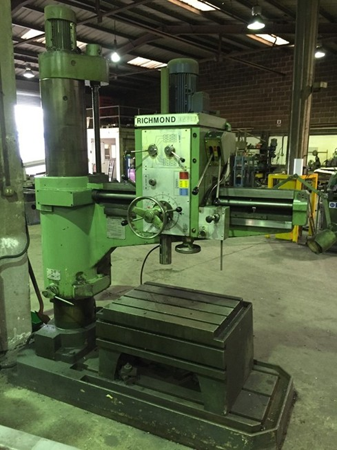 Richmond Envoy 48 Quot Radial Arm Drill For Sale Machinery
