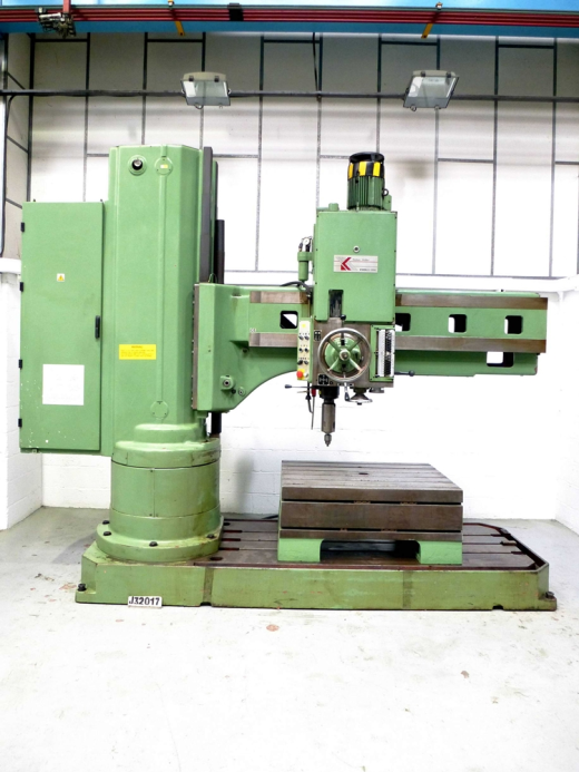 ... 2290mm Radial Drill, No.6 Morse Taper for sale : Machinery-Locator.com