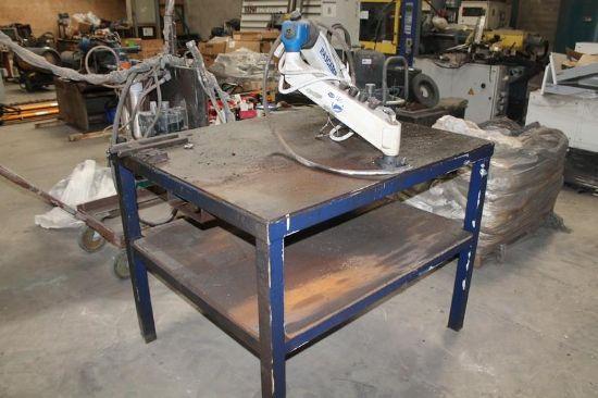 ... AIR DRILL & TAP MACHINE C/W WORKBENCH for sale : Machinery-Locator.com