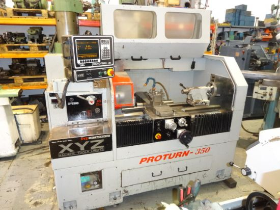 XYZ Proturn 350 CNC Lathe for sale : Machinery-Locator.com