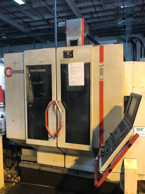 Hermle C800 U 5 Axis Machining Centre for sale : Machinery ...