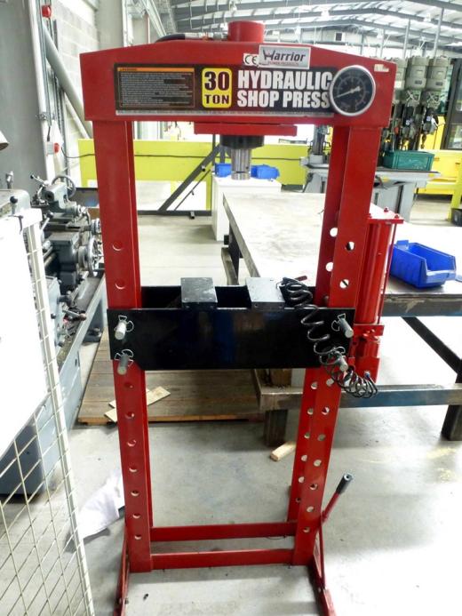 30 Ton Hydraulic Garage Press For Sale Machinery