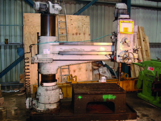 Kitchen And Walker E3 6ft Radial Arm Drill For Sale