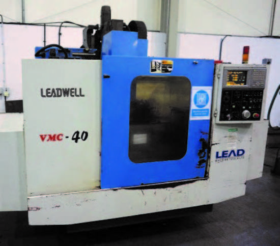leadwell vmc 40 cnc vertical machining centre with meldas. Black Bedroom Furniture Sets. Home Design Ideas