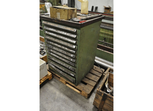 Tool cabinet 11 drawers for sale machinery for Kitchen drawers for sale