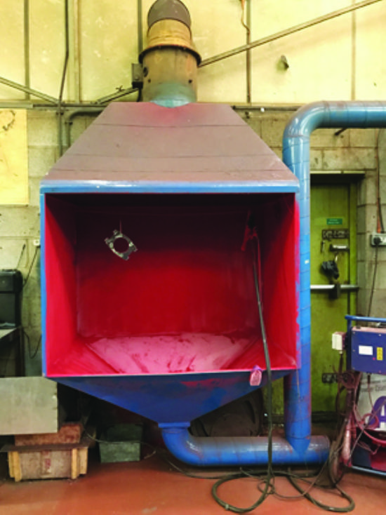 Paintbooth & Extractor for sale : Machinery-Locator.com