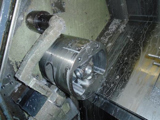 CNC Lathe  Mazatrol T-Plus control Max machining ø 310 mm Max machining length 579 mm Max bar c