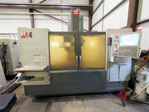 HAAS VF-4 Vertical Machining Centre (2010) for sale : Machinery-Locator.com