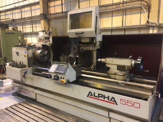 Harrison Alpha 550 Cnc Lathe For Sale Machinery Locator Com