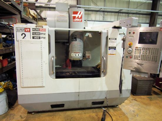 Year: 2006 Make: HAAS VF-2SS Model: HAAS VF-2SS Traverses XYZ: 762 x 406 x 508mm Spindle Speed: