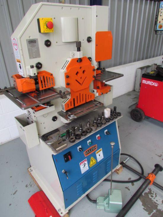 44tons metric  22 thro15mm,150mm throat 255x10mm flat bar shearing,75x75x6mm angle,30mm bar,50.8mmx