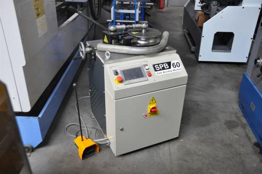 Siemens NC control    Max dia tube x thickness: Ø 60 x 4 mm Min bendingradius: R40 Max bending