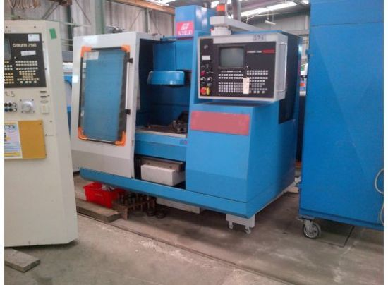VMC Machining centre KONDIA Capacity: 600 x 350 x 450 mm 20 tools changer CN NUM 750 Very good condi