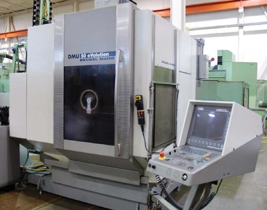 5-axis Vertical Machining Centre  Heidenhain TNC 530 X/Y/Z 500/420/380 mm B-axis 0-180° C-axis