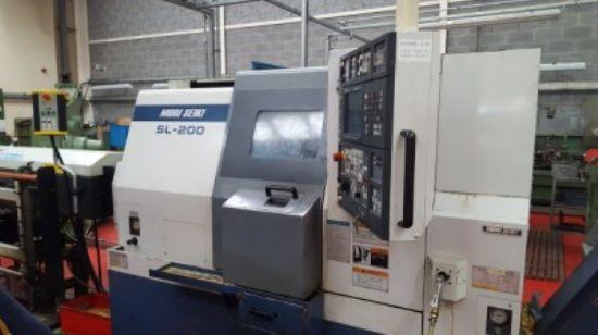 MAKE: MORI SEIKI, MADE IN JAPAN MODEL: SL-200MC YEAR: Installed YEAR 2000 BED SIZE: 680mm PLUS: