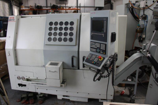 2004, Siemens Shopmill 810D, 210mm Chuck, Toolsetter, Parts Catcher & Tailstock, 12 Stn VDI Turret p