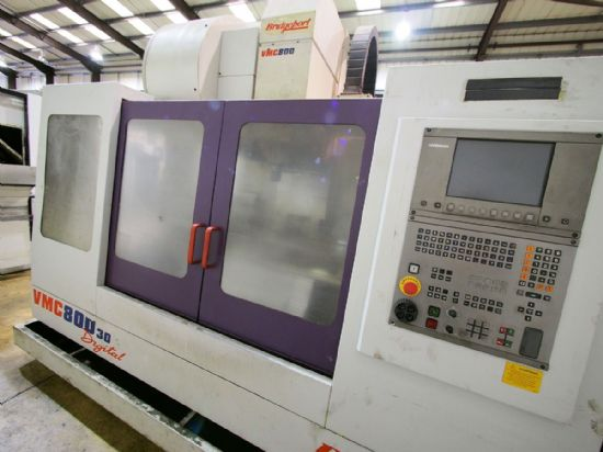 Year: 2000 Make: Bridgeport Model: VMC800/30 Table Size: 1000 x 490mm Traverses XYZ: 800 x 510 x
