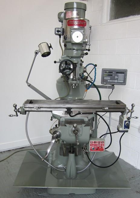Bridgeport Turret Milling Machine Refurbished See