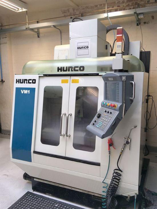 Year: 2003 Make: Hurco Model: VM1 Traverses XYZ: 660mm x 356mm x 457mm Spindle Speed: 10000rpm