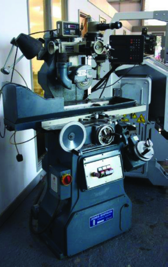 With 6in x 18in mag chuck,