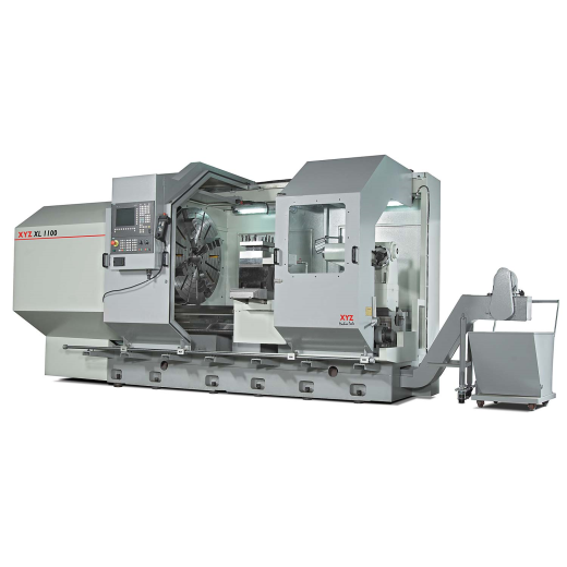 SWING OVER BED 1100mm SPINDLE BORE 160mm (up to 420mm opt) 94HP / 70kW SPINDLE DISTANCE BETWEEN C