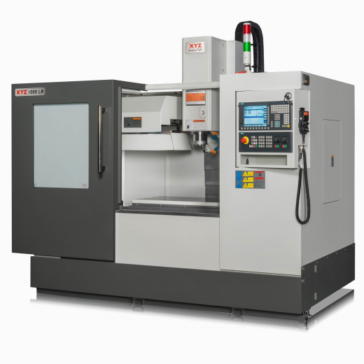 The LR range of machines offer a lower cost introduction to VMC ownership.  18 HP / 13kW SPINDLE