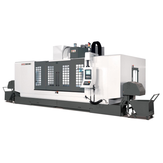 All XYZ Heavyweights have 1 metre Y axis travel.  56 HP / 42kWSPINDLE TABLE 2700 x 1000 mm TRAV