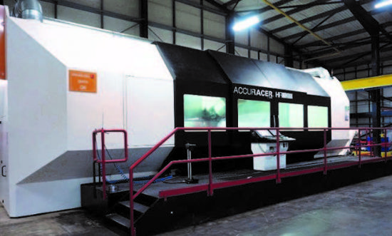 with Siemens 840D SL CNC Control, 