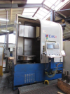 800mm Vertical CNC Borer with Fanuc 21i-TB Control, Driven Tools & C Axis. Manufactured 2005