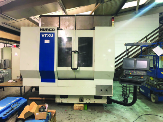 Hurco VTXU 5-Axis Machining Centre (2007) for sale ...