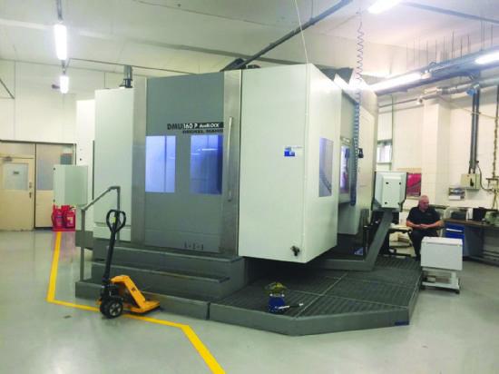 Spindle taper 100 HSK-A-100,  Siemens Powerline control,  main motor 28kW,  spindle speed 10,000r