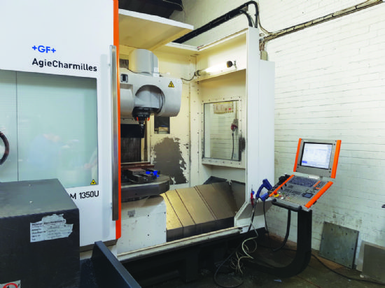Heidenhain TNC530 control, 